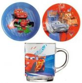 Дитячий набір Luminarc L2128 DISNEY CARS II 3 пр