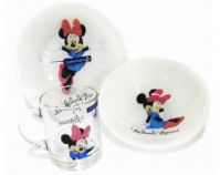 Набір дитячий Luminarc L2120 DISNEY COLORS MINNIE 3 пр