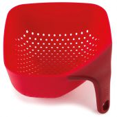 Друшляк Joseph Joseph 40049 quare Colander Plus Small 16x16x9 см Червоний