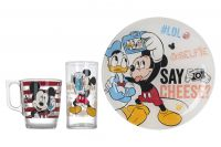 НАБІР Luminarc L4871 DISNEY PARTY MICKEY дитяч. 3 пр.