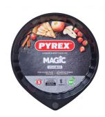 Форма кругла PYREX MG27BN6 Magic з хвилястим бортиком 27 см