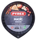 Форма кругла PYREX MG30BN6 Magic з хвилястим бортиком 30 см