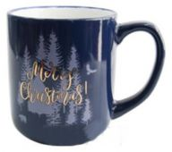 Кухоль Milika M0420-124-02-117B Merry Christmas Blue 450 мл Color